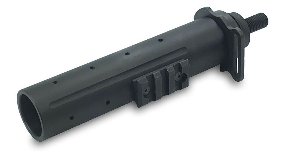 Longer version of Choate Night Manager for Mossberg Model 500. (Image: Choate Machine & Tool)