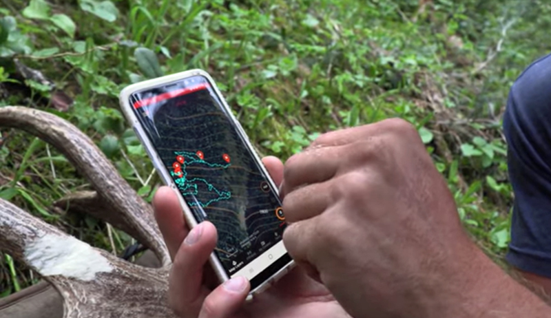 Use Your Smart Phone While Tracking Wounded Game