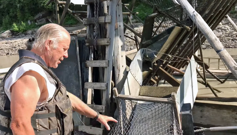 Stan Shows How to Run a Fish Wheel