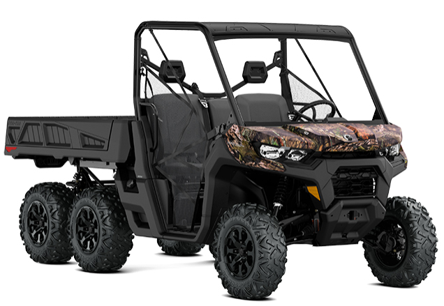 Can-Am Defender 6 X 6 DPS Mossy Oak (Image: Can-Am)