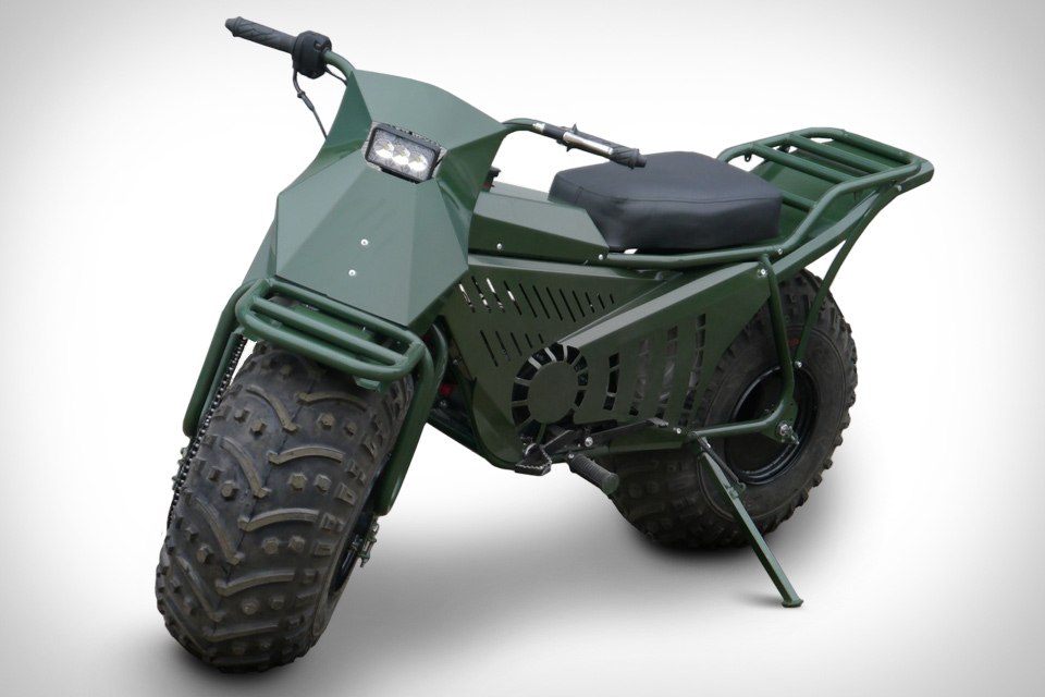 Russian Tarus 2x2 motorcycle.