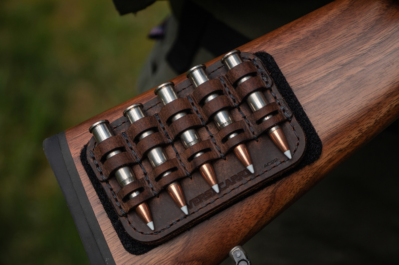 Ammo Caddy Lets You Tote Extra Ammunition in Style