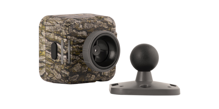 wildgame-innovations-micro-cam1.jpg The Micro Cam's magnetic ball mount looks very convenient. (Image: Wildgame Innovations)