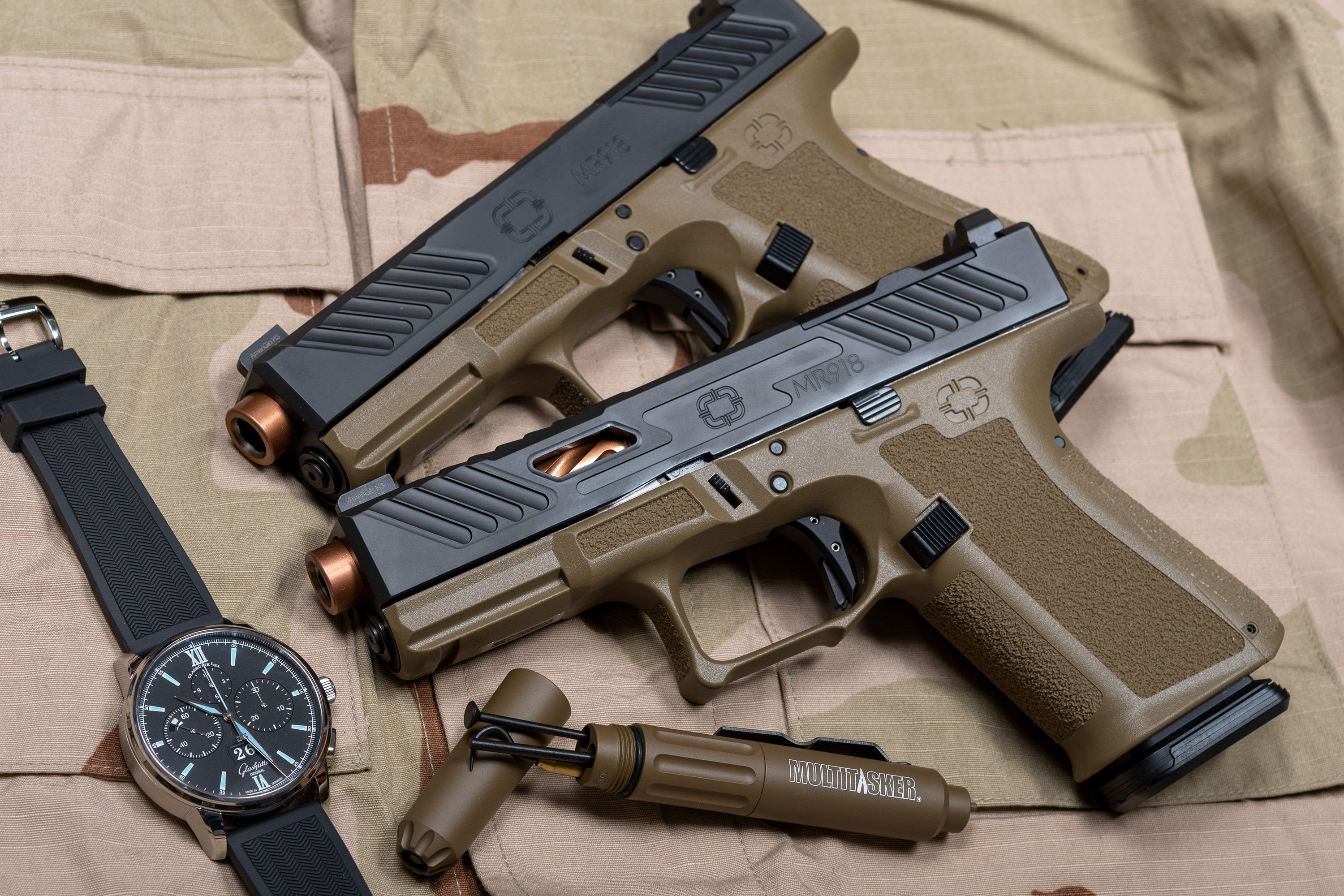 Shadow Systems MR918 9mm FDE Pistols Shipping Now