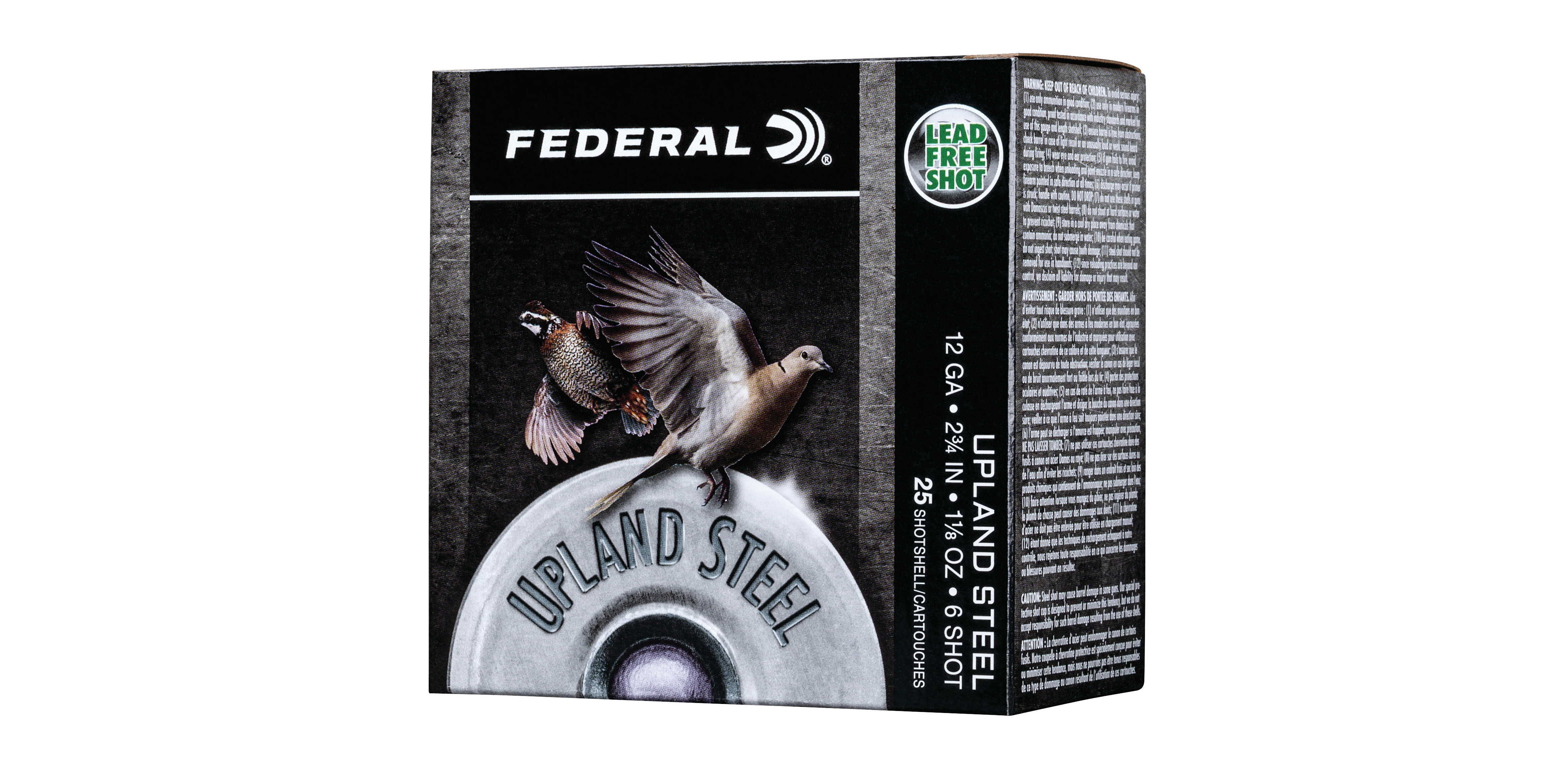 NEW Federal Upland Steel Loads in 12 and 20 Gauge