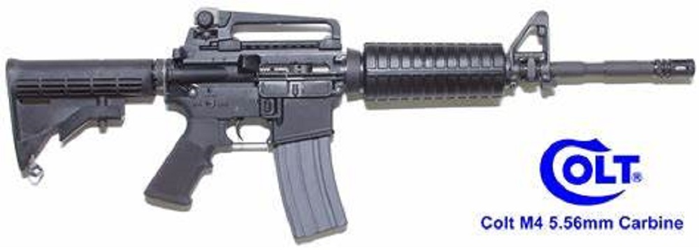 Dupe an M-4 Carbine
