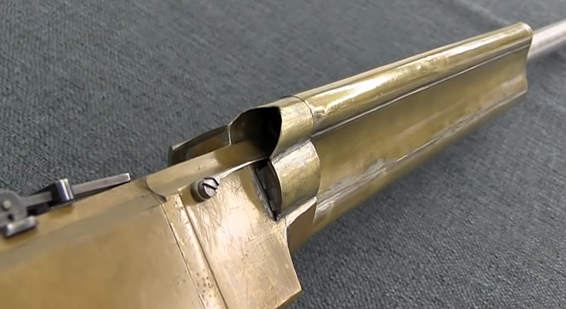 Experimental Henry Lever-Action Rifle With Triple Magazine!