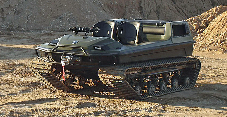 The Russian Tinger Track Mini-Tank