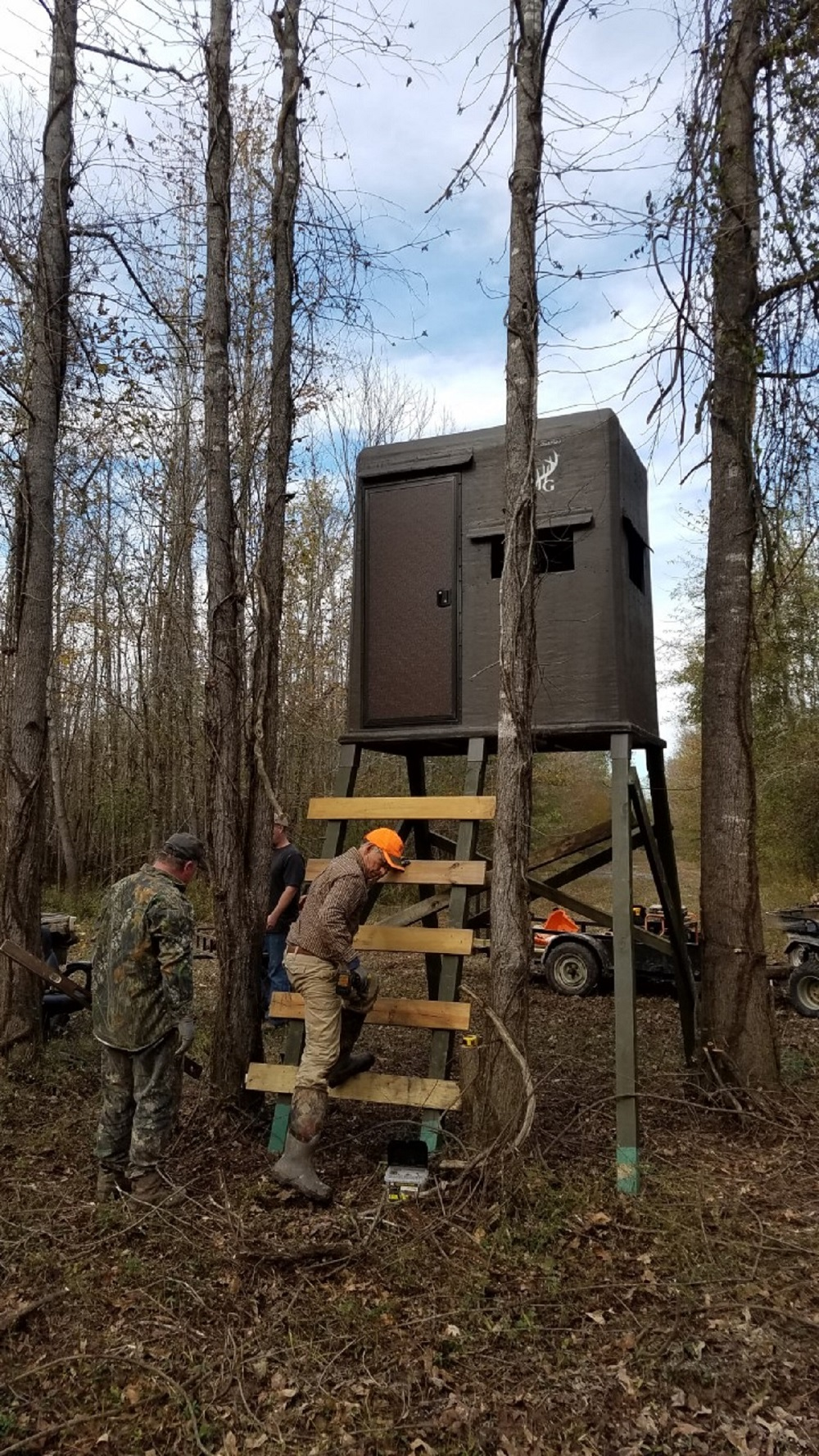 Shooting Houses vs Tree Stands