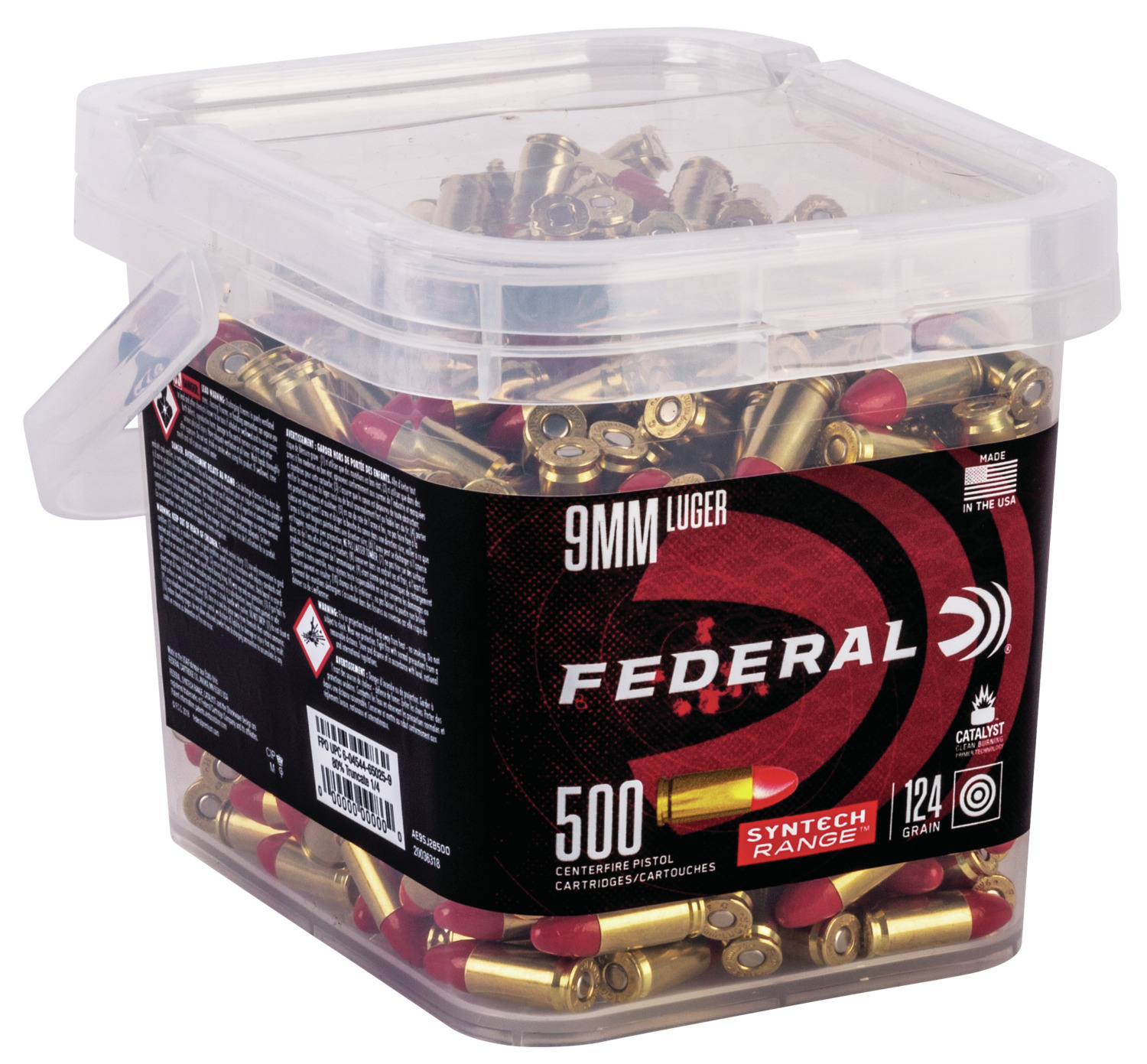 Federal Now Selling Ammo by the Bucketful