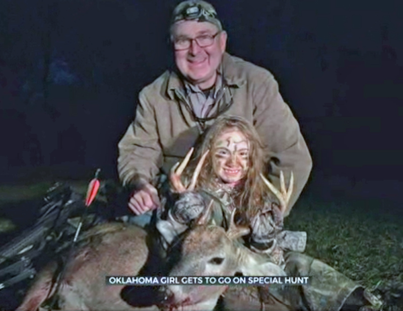 Girl With Brittle Bone Disease Bags First Buck