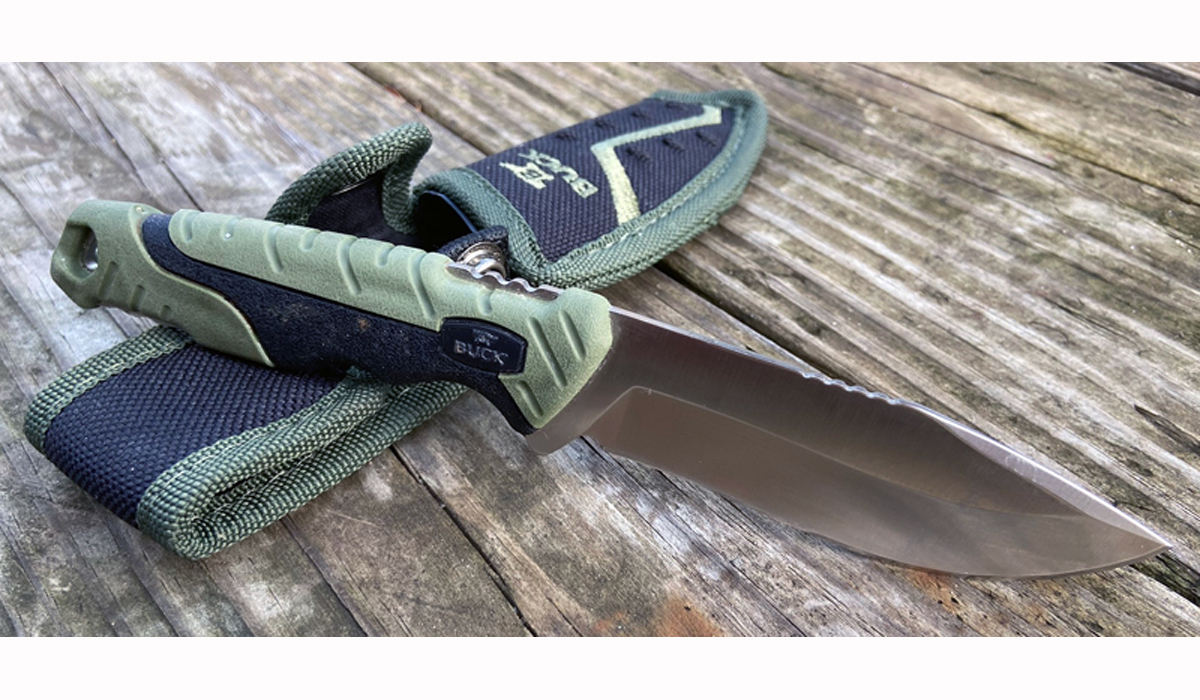 Buck 658 Pursuit Small Fixed-Blade Hunting Knife Review