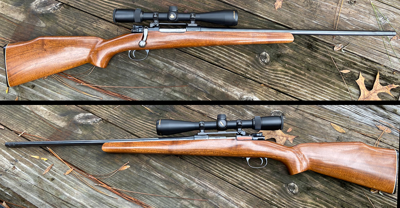 "Dad's old 30-06 ""SpringMaus"" is essentially a '98 Mauser action with a barrel from an '03 Springfield. (Photo © Russ Chastain)"
