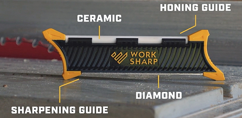 Features of the Work Sharp Pocket Knife Sharpener (Photo  Work Sharp)