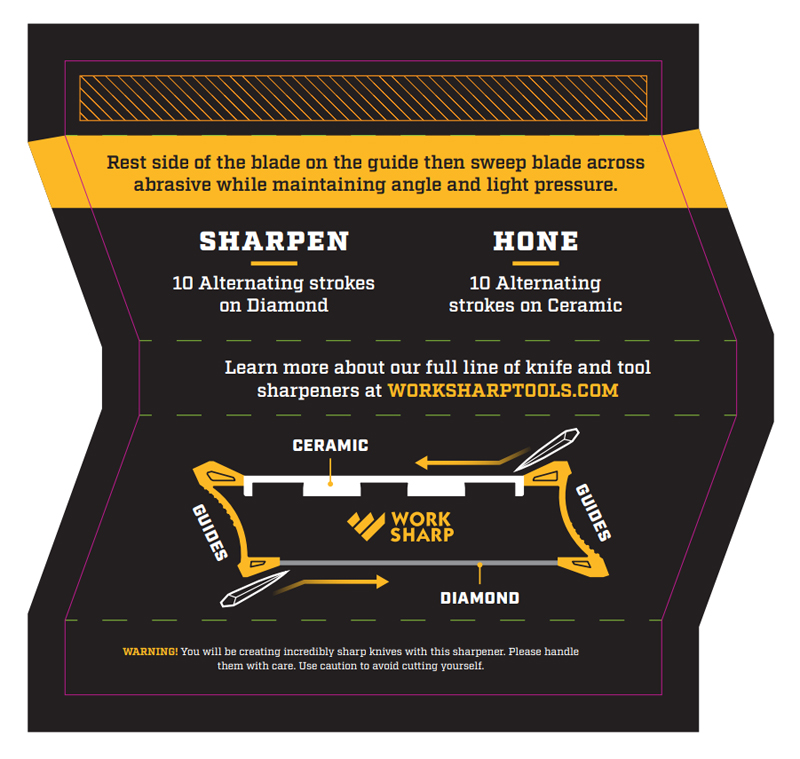 User Guide for the Work Sharp Pocket Knife Sharpener