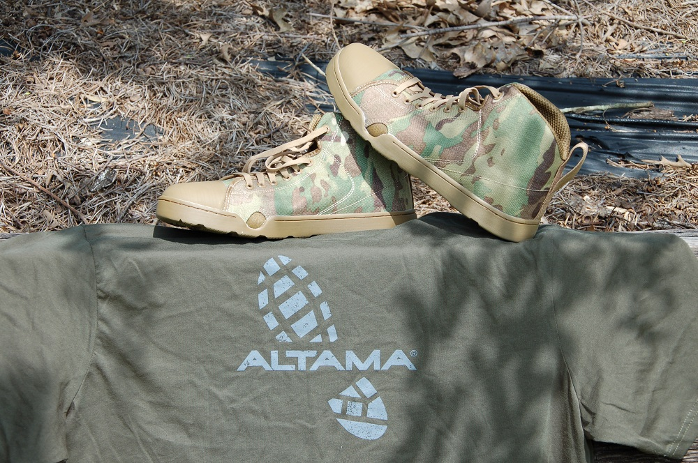 Working the Altama Assault Boot