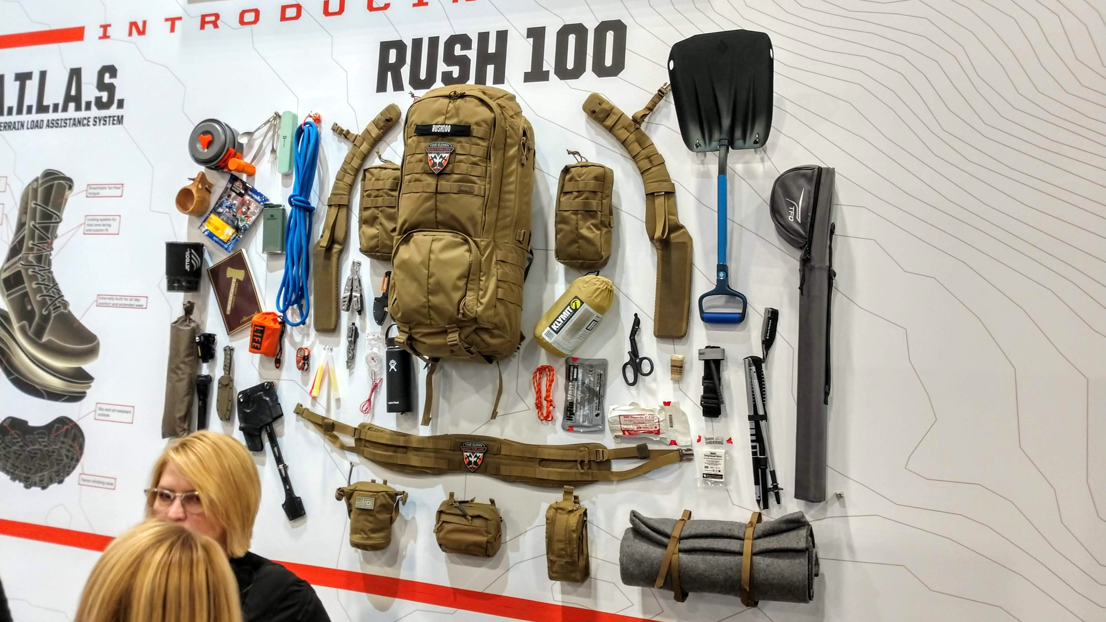 [SHOT Show 2020] NEW 5.11 Tactical Rush 100 Pack & VR Hexgrid System