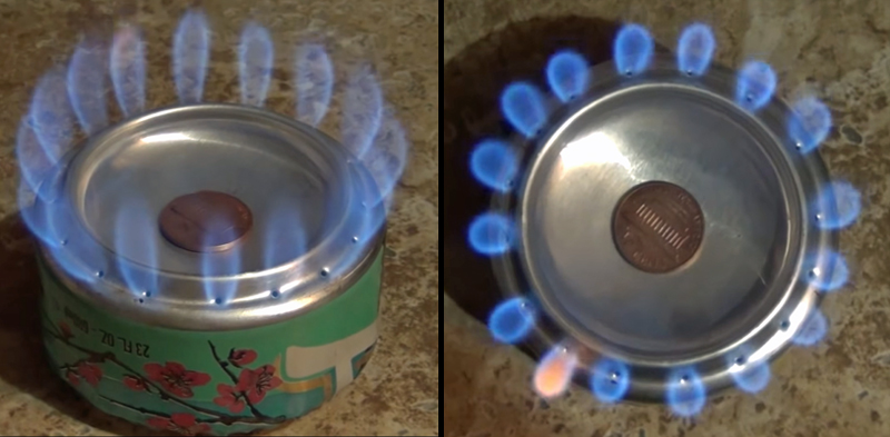 A Bigger and Better Alcohol Penny Can Stove