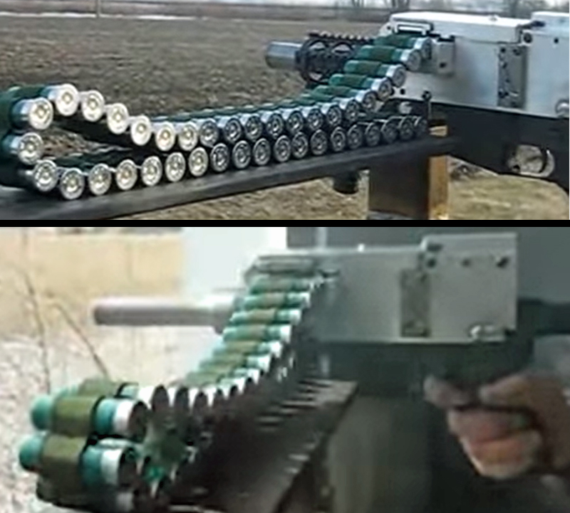 A Homemade Belt-Fed Full-Auto Shotgun? Yes, Please!