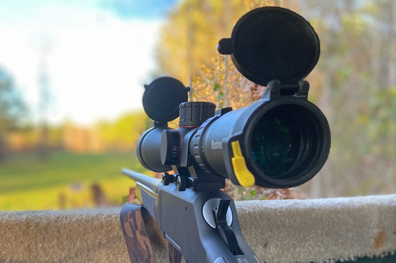 I enjoyed hunting with this scope. (Photo © Russ Chastain)