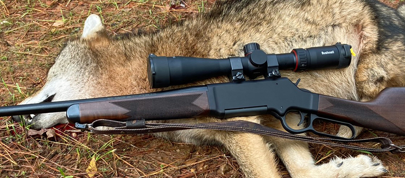 The Nitro helped me smoke this big fawn-killer. (Photo © Russ Chastain)