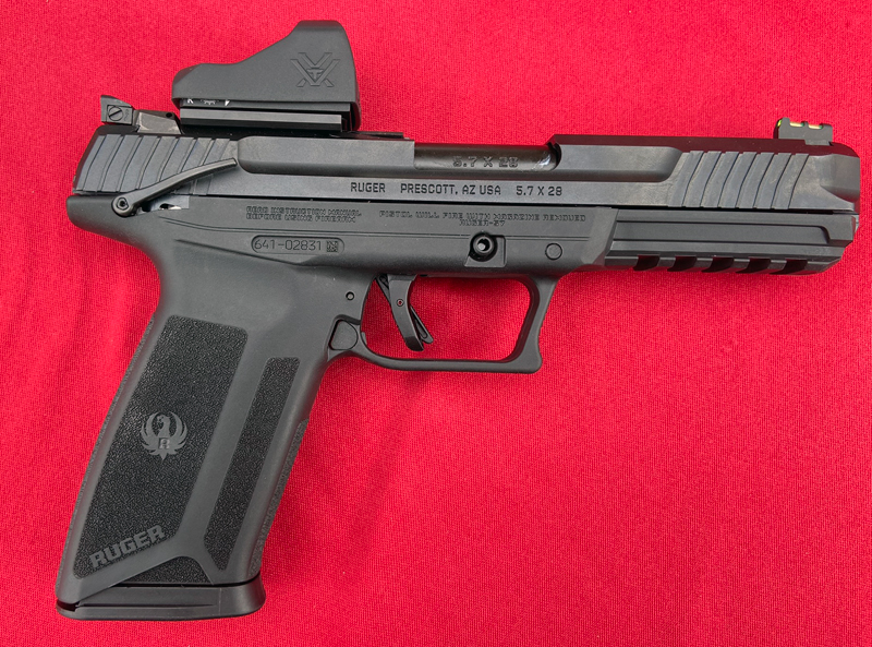[SHOT Show 2020] Shooting the Ruger-57 at SHOT Show Range Day
