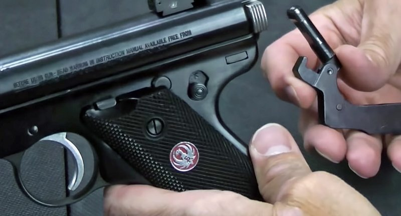 Reassemble a Ruger 22 Pistol in 16 Seconds