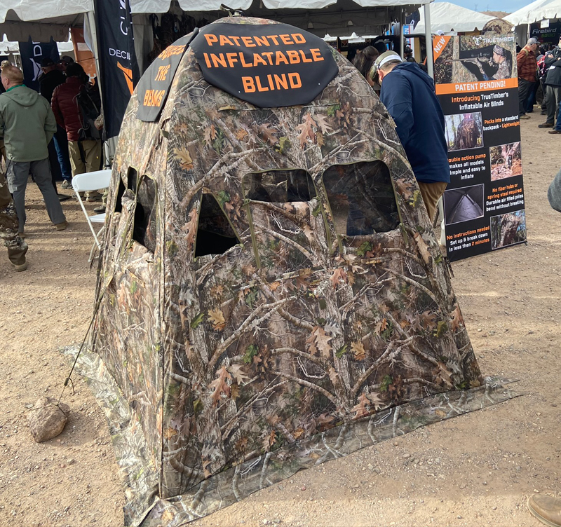 [SHOT Show 2020] TrueTimber's New Inflatable Hunting Blinds