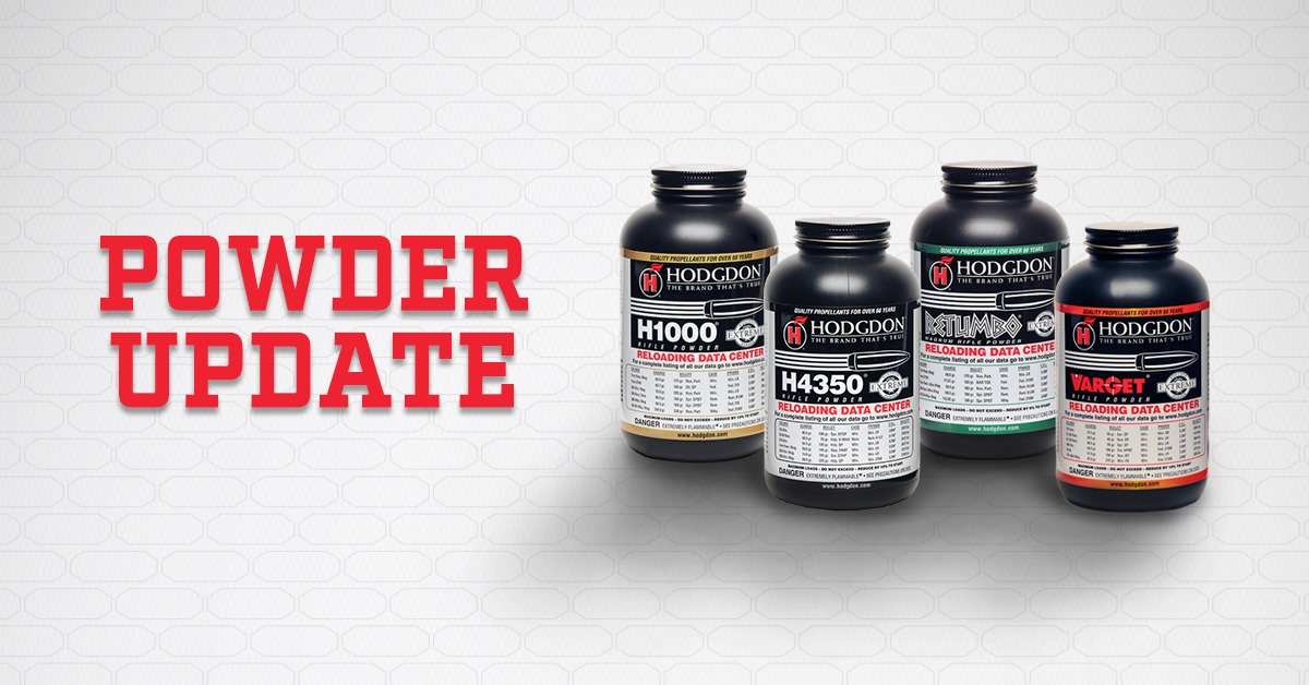 Hodgdon Powder… Where is All of It Hiding and What is Going On?