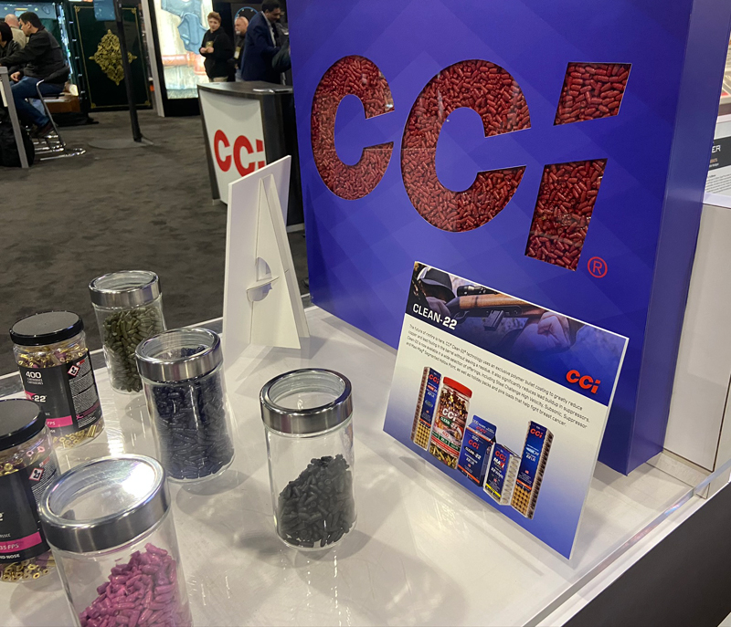 [SHOT Show 2020] CCI Expands 'Clean-22' Coated Bullet Ammo Line