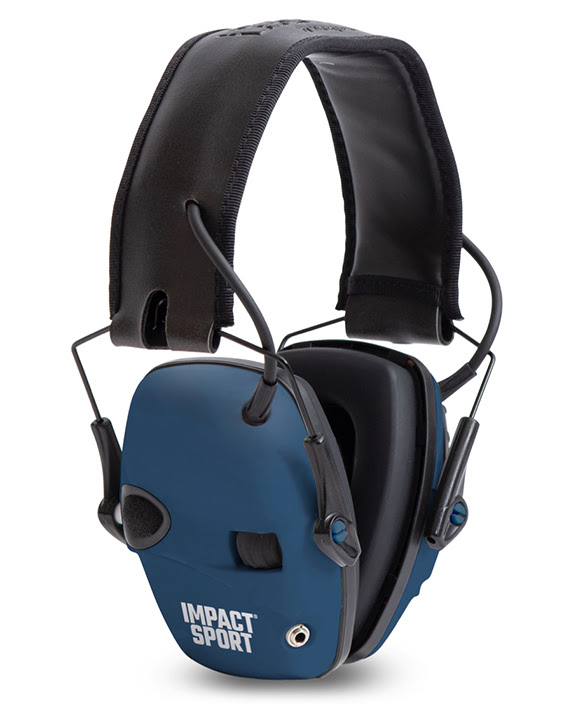 """Howard Leight Impact Sport Honor Collection """"Real Blue"""""""