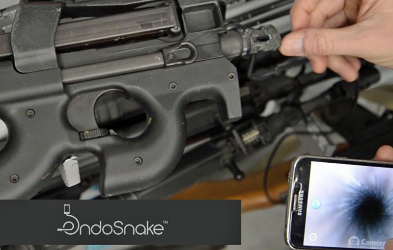 Endosnake: World's Smallest Bore Inspection Camera