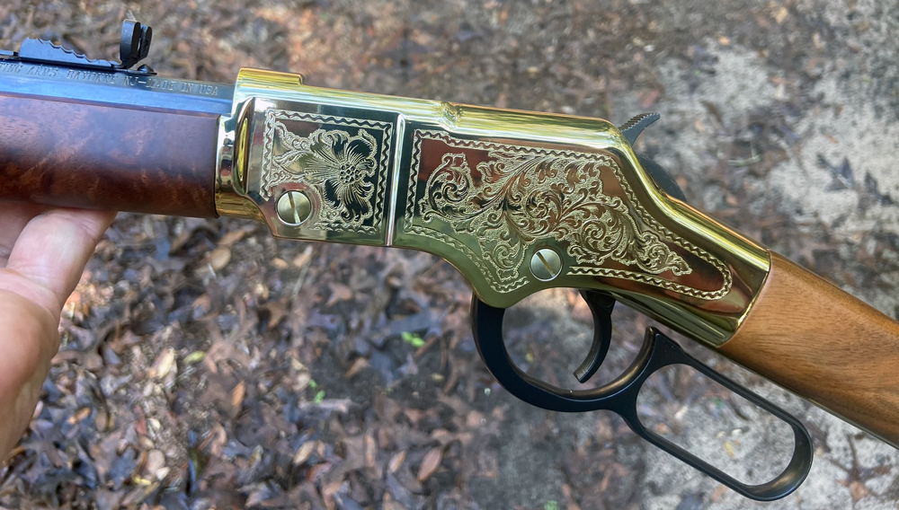 I believe this is the prettiest rifle I've seen from Henry Repeating Arms. (Photo © Russ Chastain)