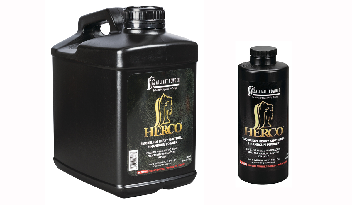 Reloaders: Alliant Has Improved Herco Powder