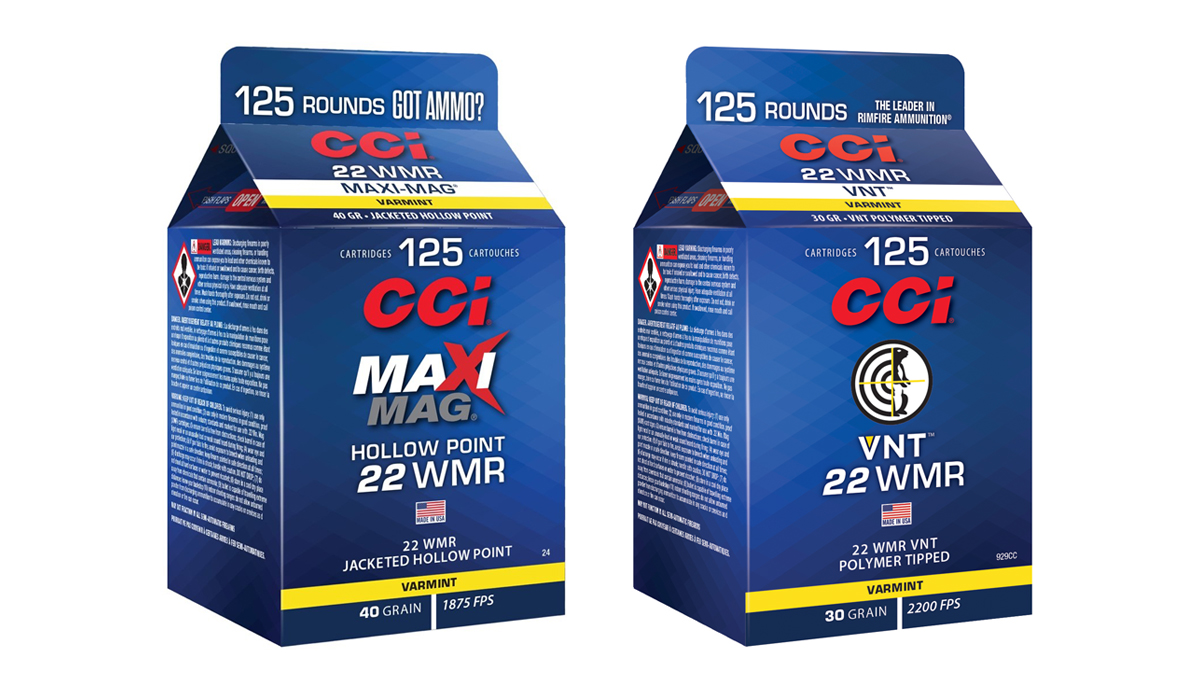 "CCI Maxi-Mag and VNT Rimfire Ammo Now in Bulk ""Pour Packs"""