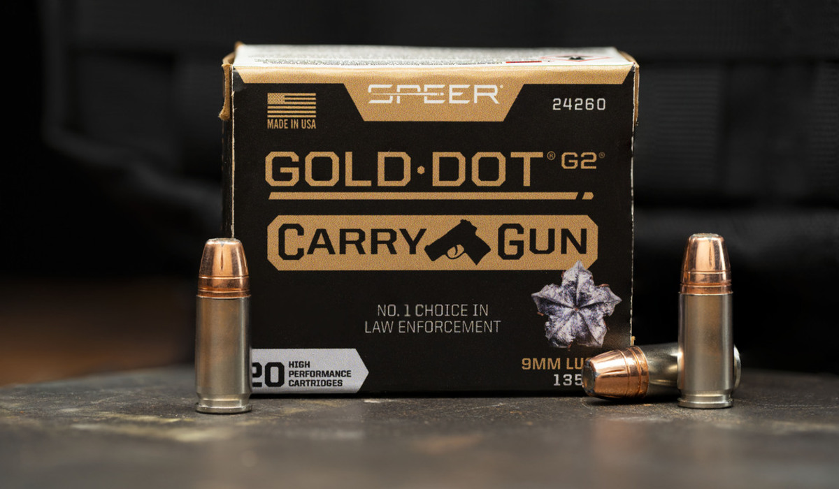 Speer Offers New Gold Dot Carry Gun Ammo