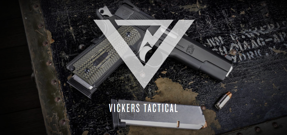 NEW Steel! Springfield Armory Vickers Tactical Master Class 1911 .45 ACP