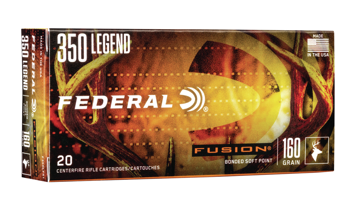 Federal Premium Now Offering Fusion 350 Legend Ammunition