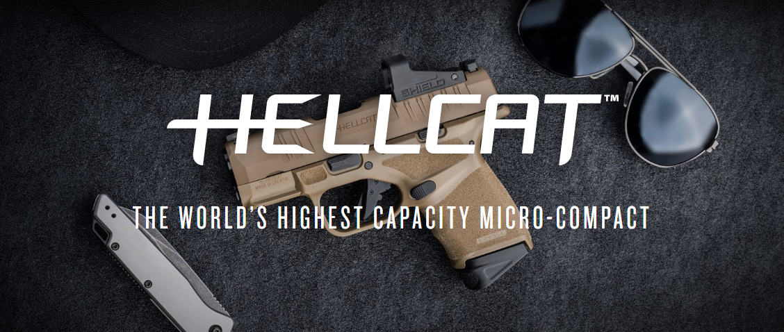 NEW Cerakote Desert FDE Finish for the Springfield Armory Hellcat 9mm