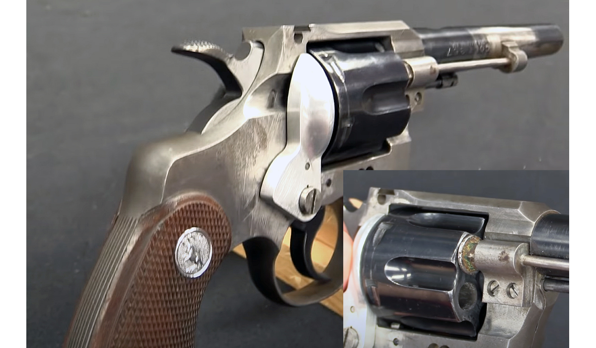 Experimental Colt Revolver Automatically Ejects Empty Shells