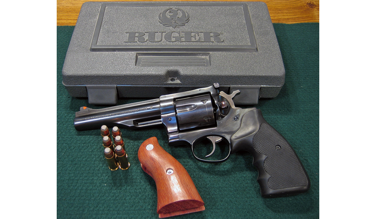 The Ruger Redhawk 44 Magnum Double Action Revolver