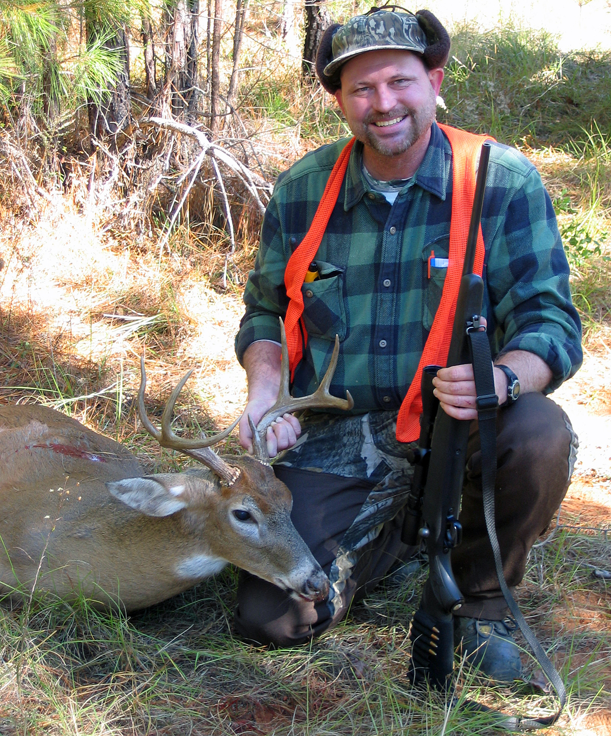 This is the first buck I ever had mounted, taken with the little Savage 308. (Photo © Russ Chastain)