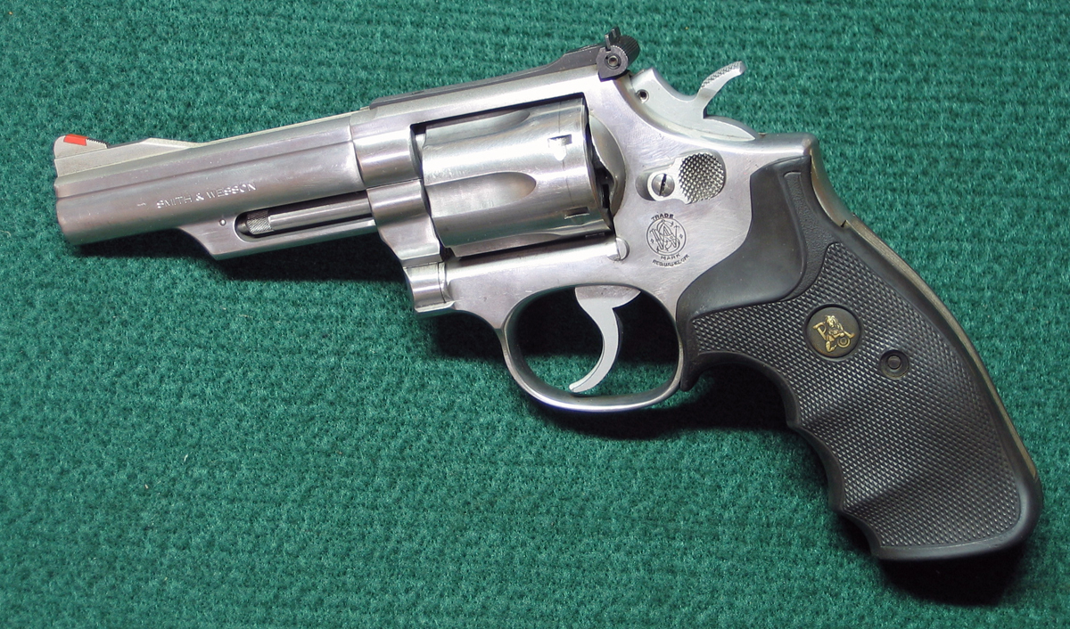 S&W Model 66-1 revolver with 4-inch barrel. (Photo © Russ Chastain)