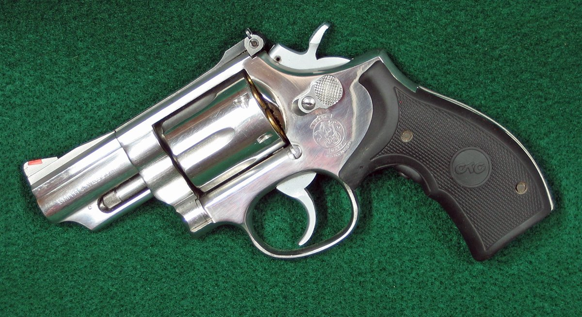 This S&W Model 66-2 revolver has a 2.5-inch barrel and a superb trigger pull. (Photo © Russ Chastain)