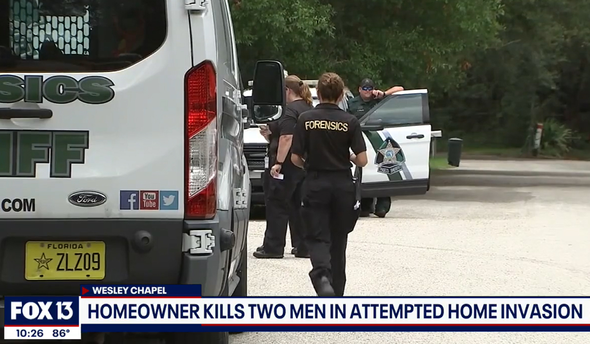 Homeowner Kills 2 of 3 Home Invaders, Neighbor Nabs Third