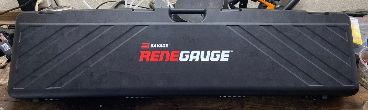 The Renegauge comes in a nice hard case. (Photo © Russ Chastain)