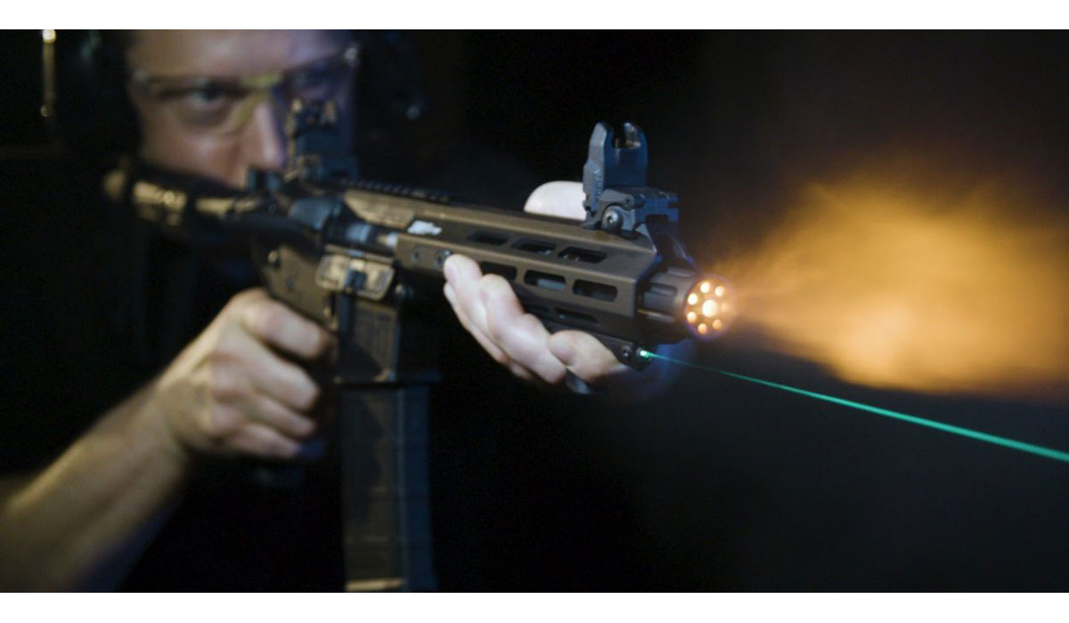 Viridian Lays Claim to World's First Hand Stop Laser
