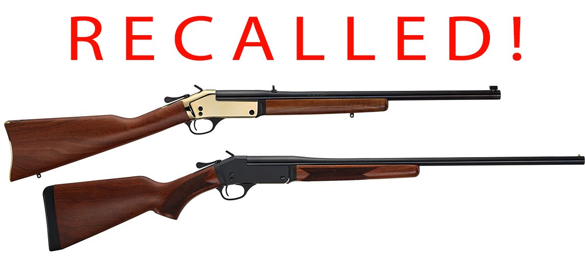 Recall of Henry Repeating Arms H015 Single Shot Rifles & Shotguns