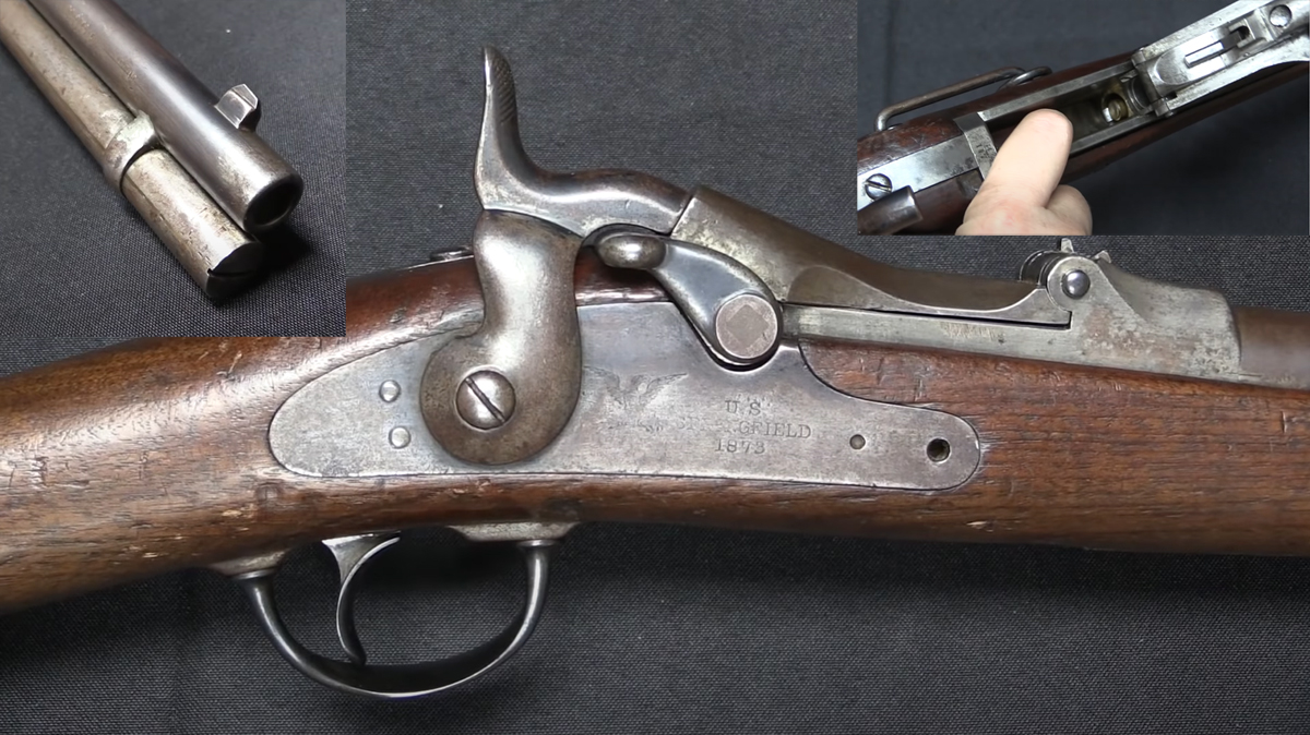 Oh, Just an 1873 Trapdoor Springfield With a Tubular Magazine