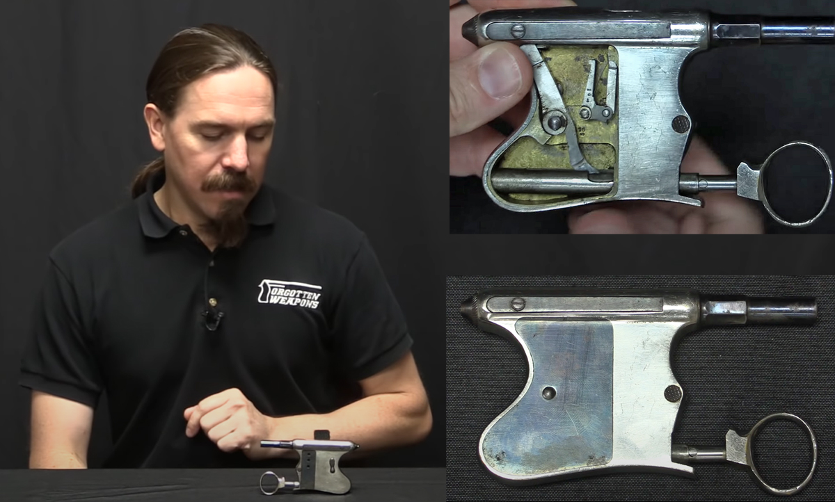 1890 Tribuzio Squeeze Pistol With Ring Trigger